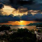 Lapad sunset, Croatia