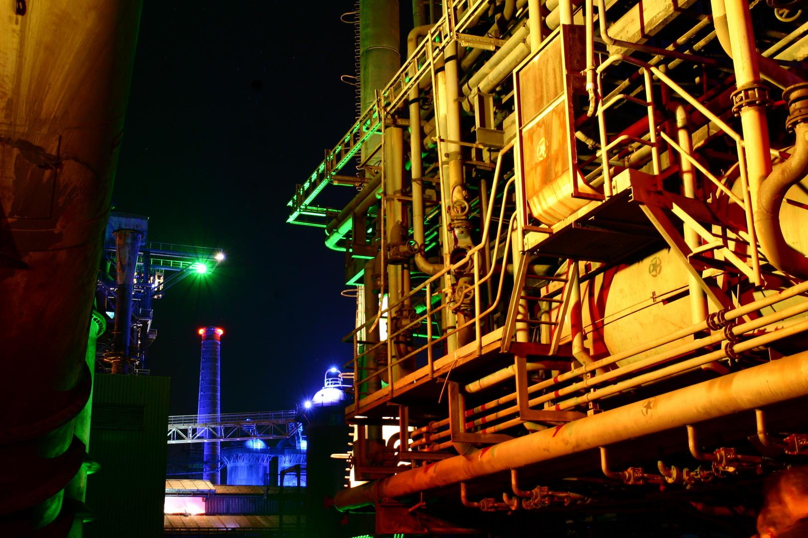 LaPaDu bei Nacht