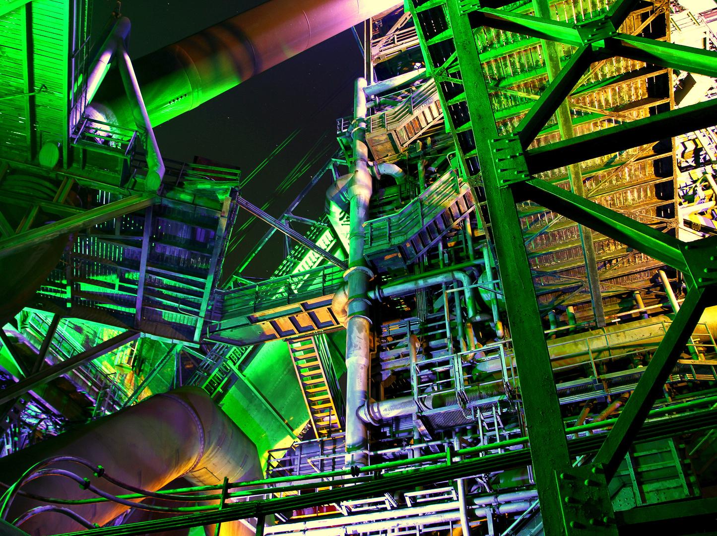 LaPaDu bei Nacht an Helloween