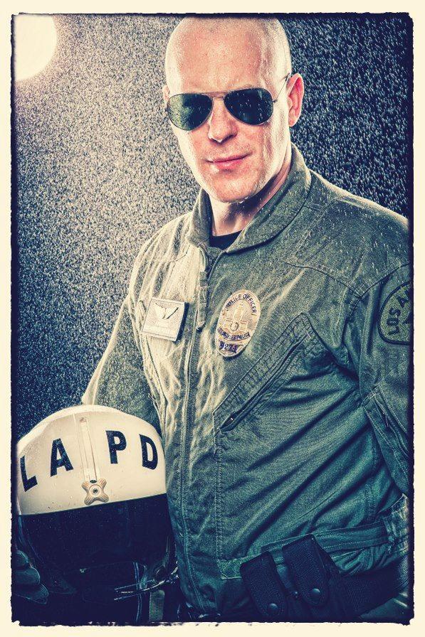 LAPD Air Support Re-enactment