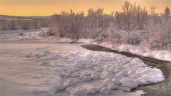 Laponia Sunset