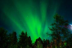 Lappland bei Nacht