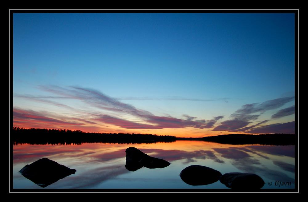 Lappland im Spiegel