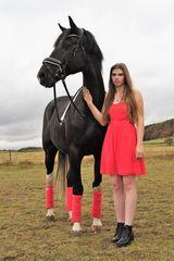 Lara und ihr Pferd Herkules 4