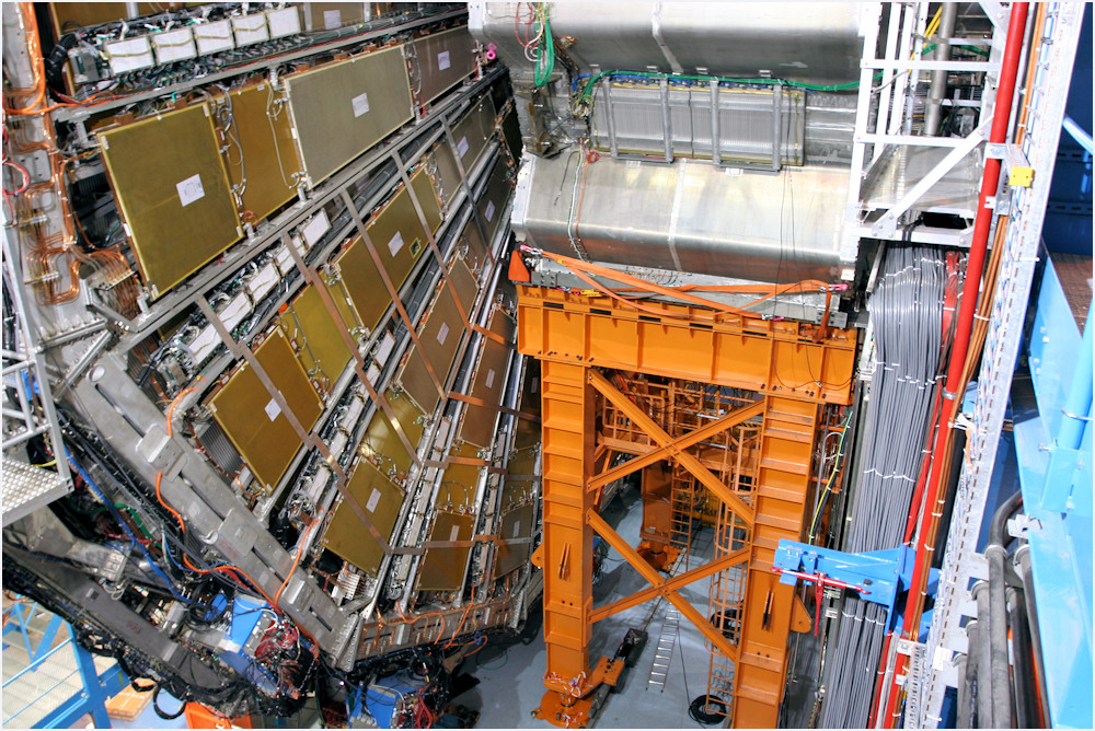 Large Hadron Collider - Atlas-Detektor