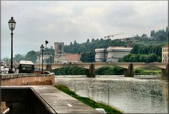 L`Arno a Firenze.