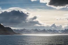 """Larsen Point, 54°9'14"""" S 36°30'58"""" W"""