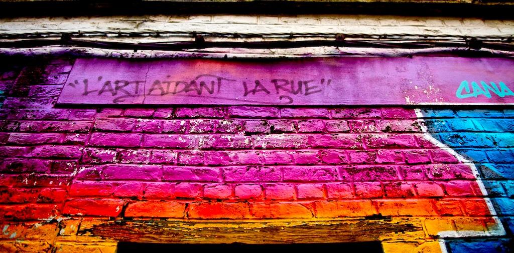 L'Art est dans la Rue..