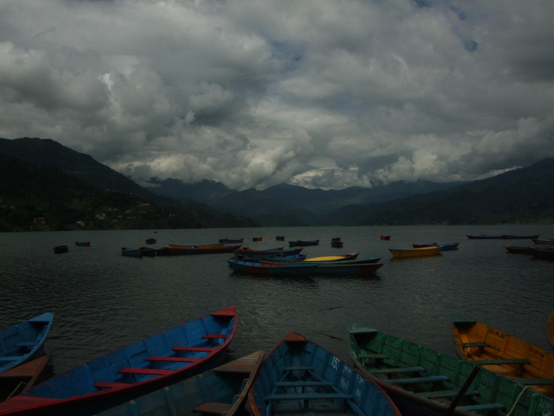 Las barcas de Pokhara