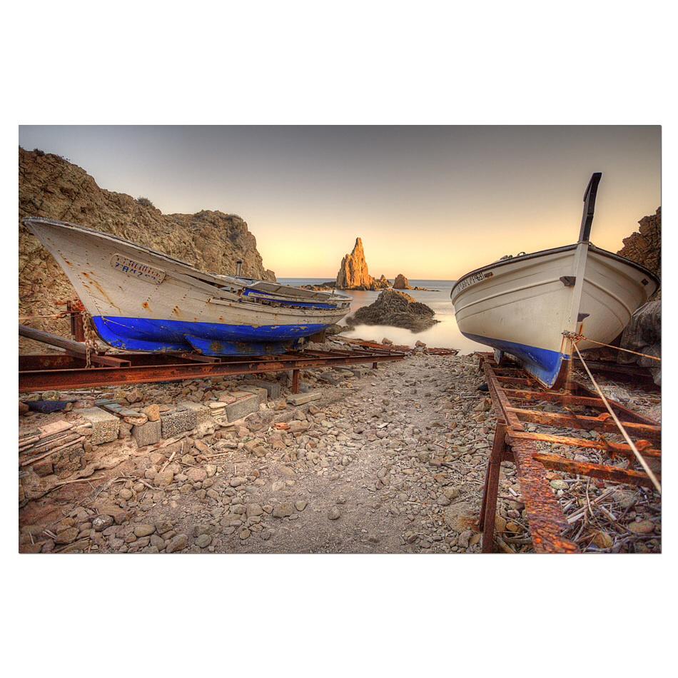 las barcas del Cabo de Gata