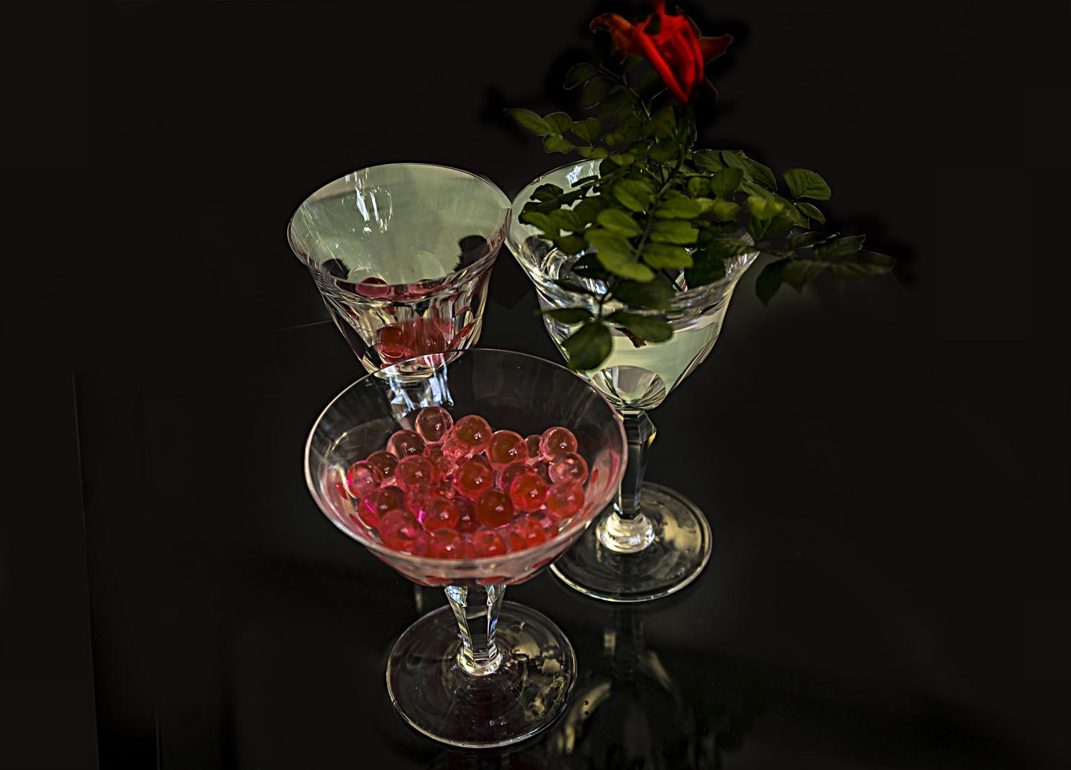 Las copas y la luz III