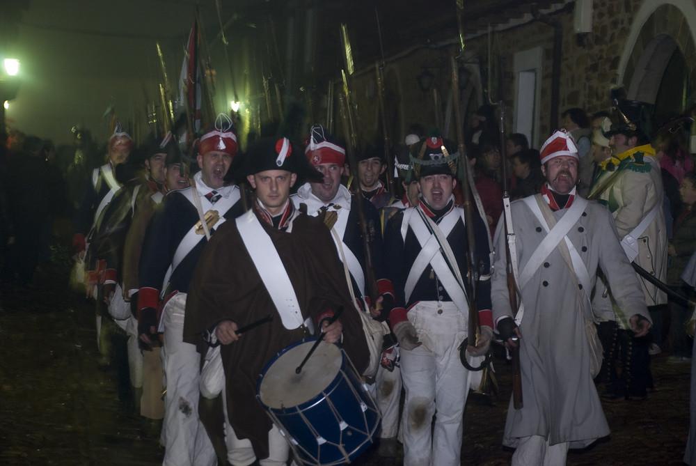Las Tropas de Napoleon.