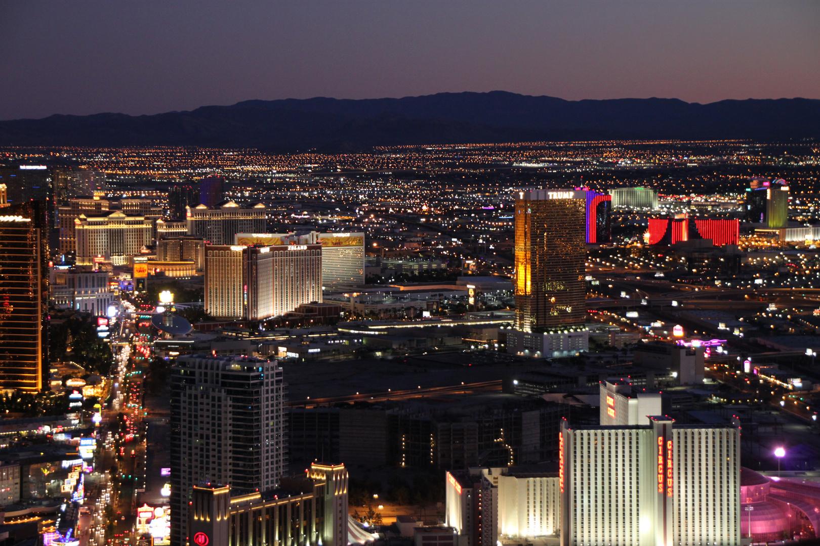 Las Vegas bei Nacht..