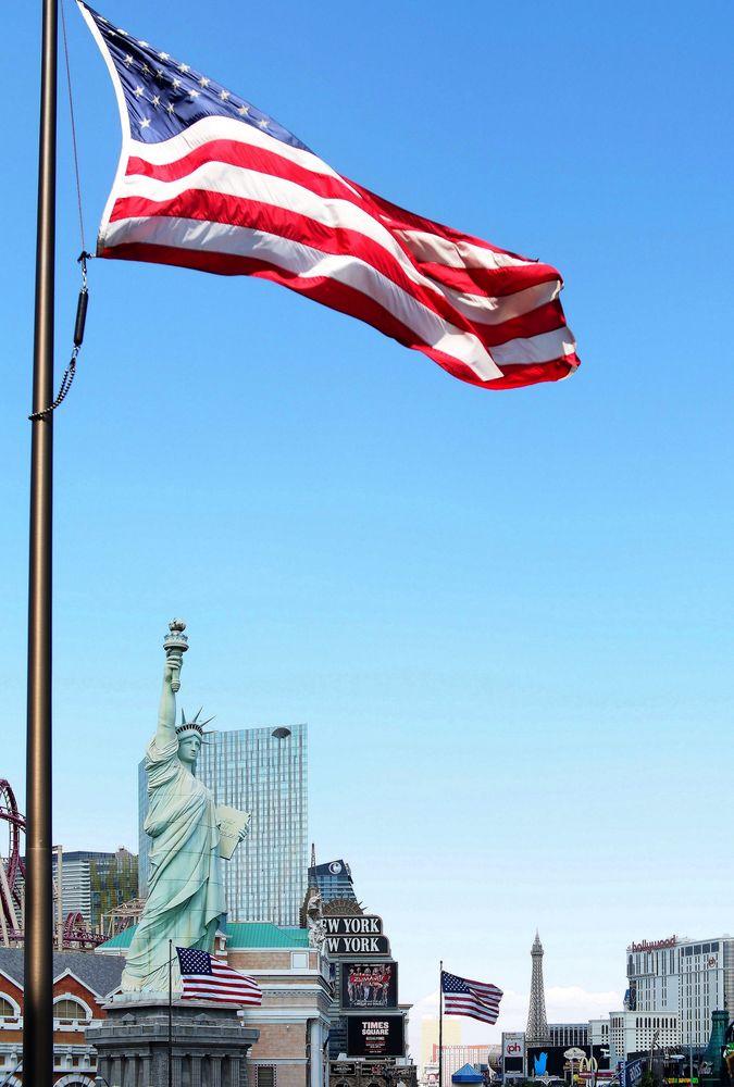 "Las Vegas - beim Hotel ""New York - New York"" (II)"