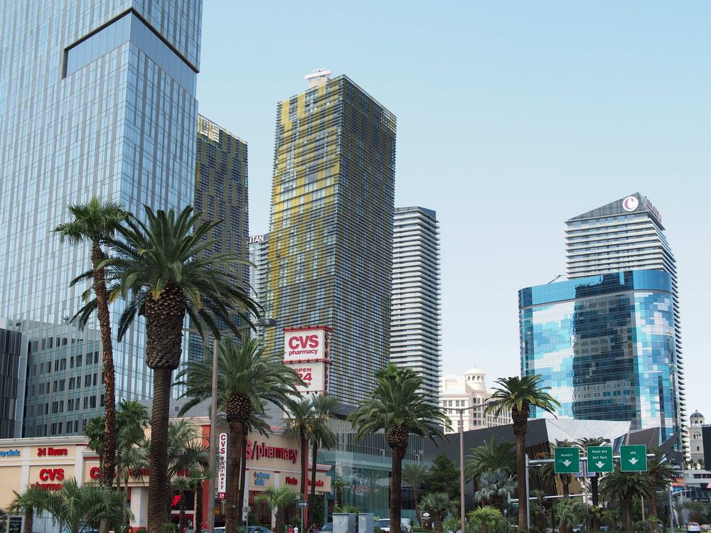 "Las Vegas - im Umfeld des Hotels ""The Cosmopolitan"""