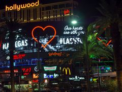 "Las Vegas ""Our Hearts are withy you"""