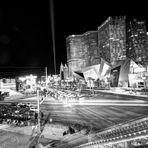 Las Vegas Strip monochrom