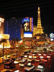 Las Vegas um Mitternacht