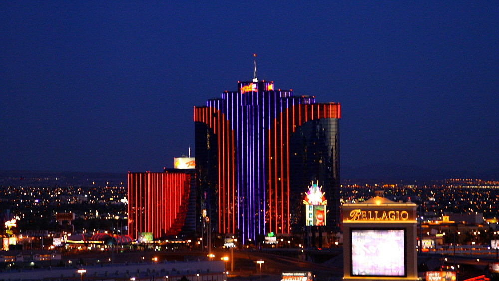Las Vegas vor dem Sonnenaufgang