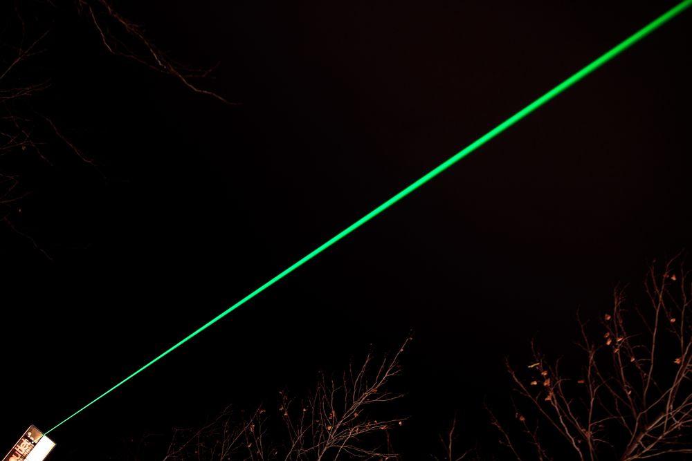 Laser diagonal