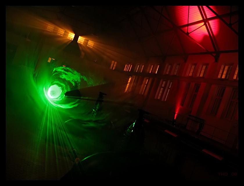 Laser im Pumpwerk
