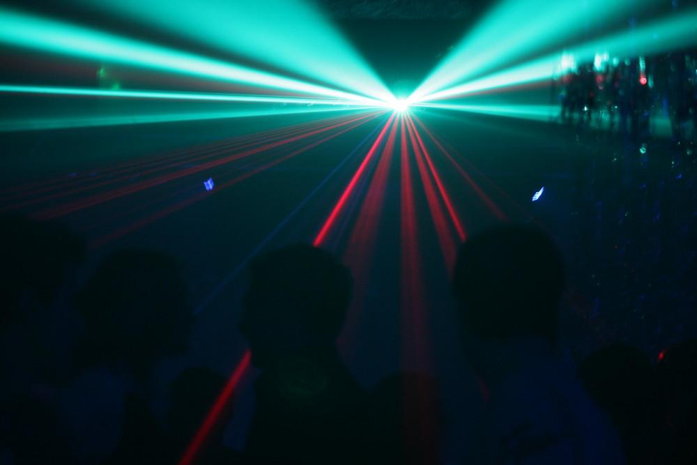 Laser im Tulip Club