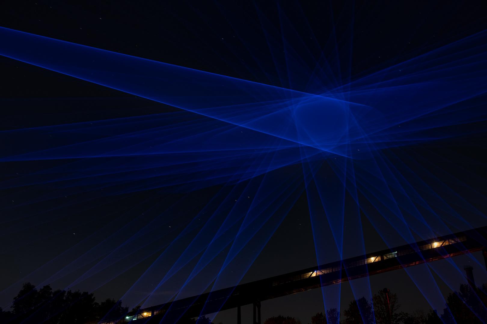 Laserkunst...