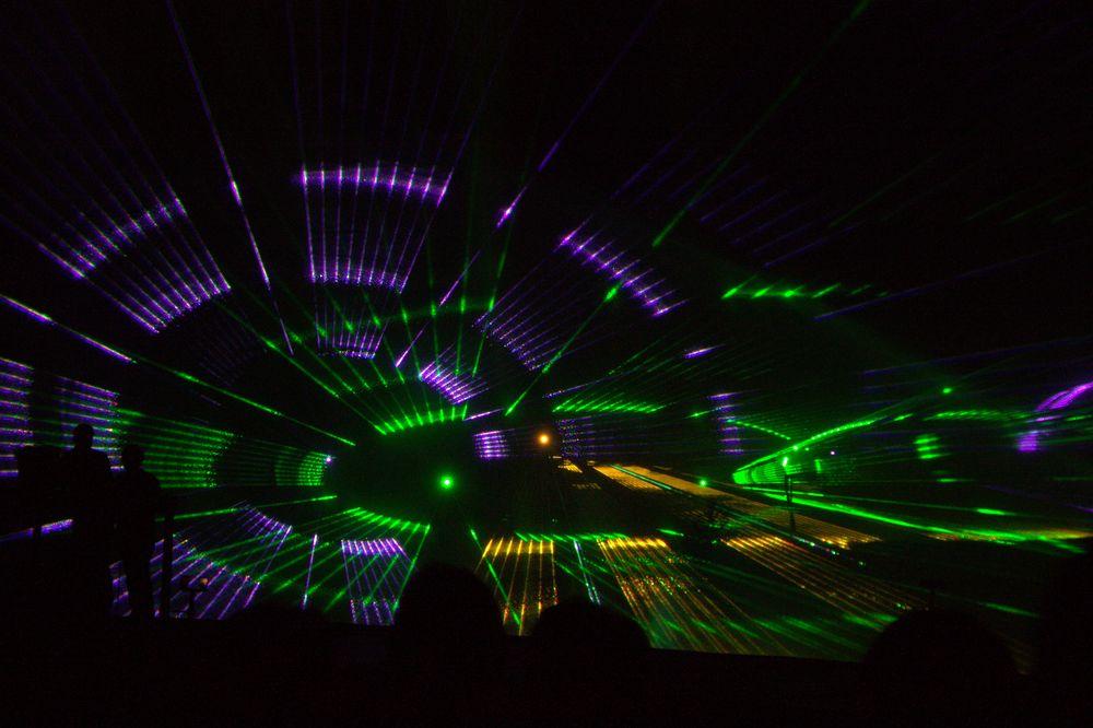 Laserschow Flößerfest