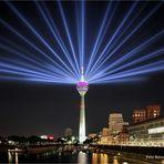 Lasershow zum 70 Geburtstag von NRW ....