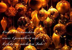 Lasst es euch gut gehen - mögen alle eure Wünsche in Erfüllung gehen! ;-)