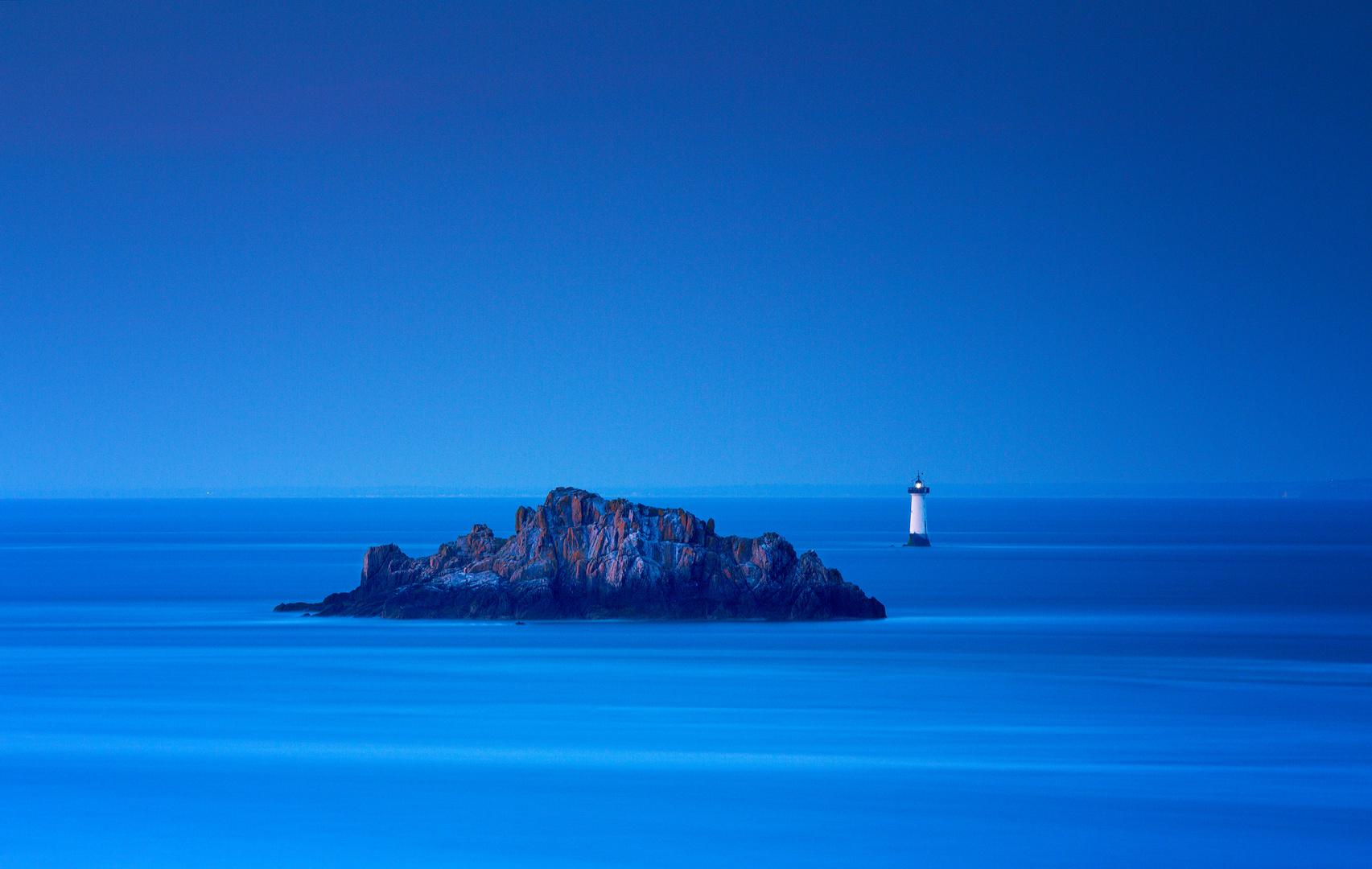 Last light on the lighthouse