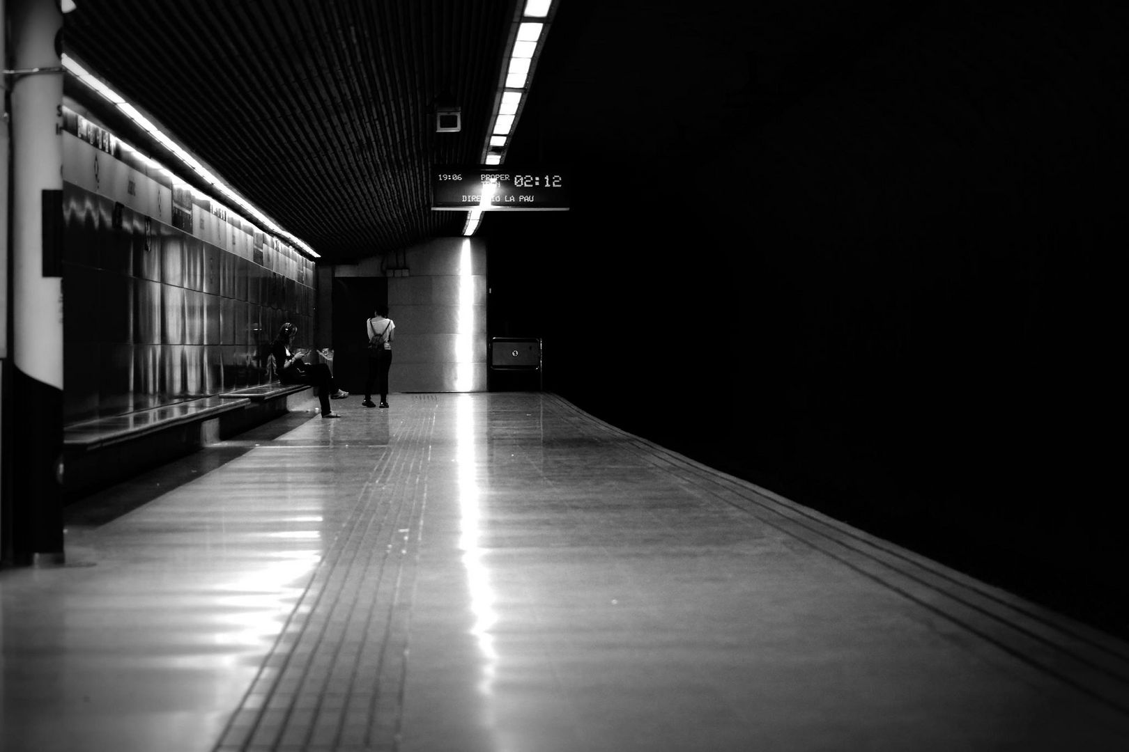 Last Metro....