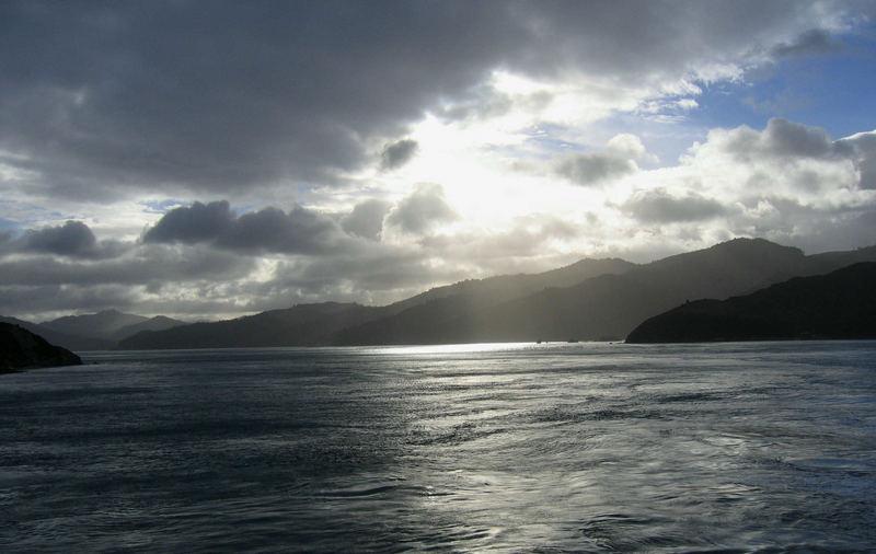 Last rays over Totaranui