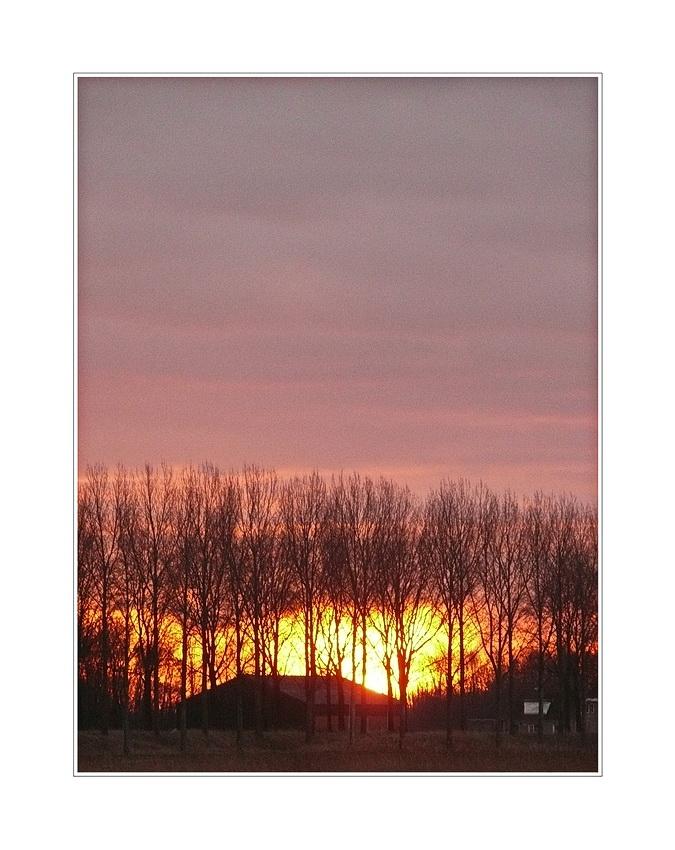 last Sunrise of the year... 31.12.2013, 9:05