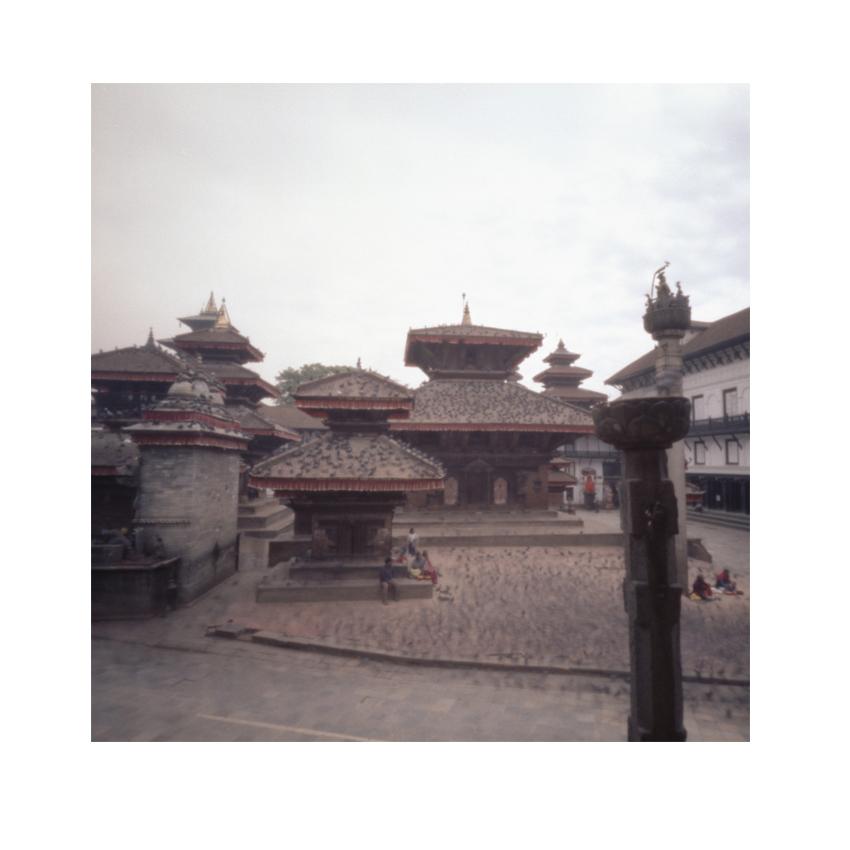 Last Temple Pinhole - five day before earthquake