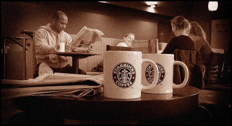 _-=   ® þ®þ.........last time at Starbucks (Cologne)