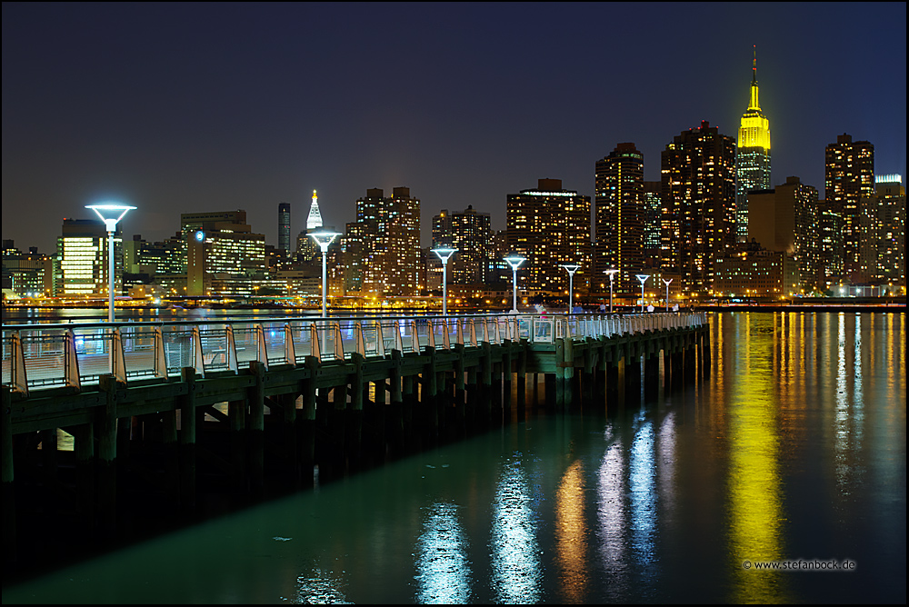 Late Gantry Park, New York City Serie XXII