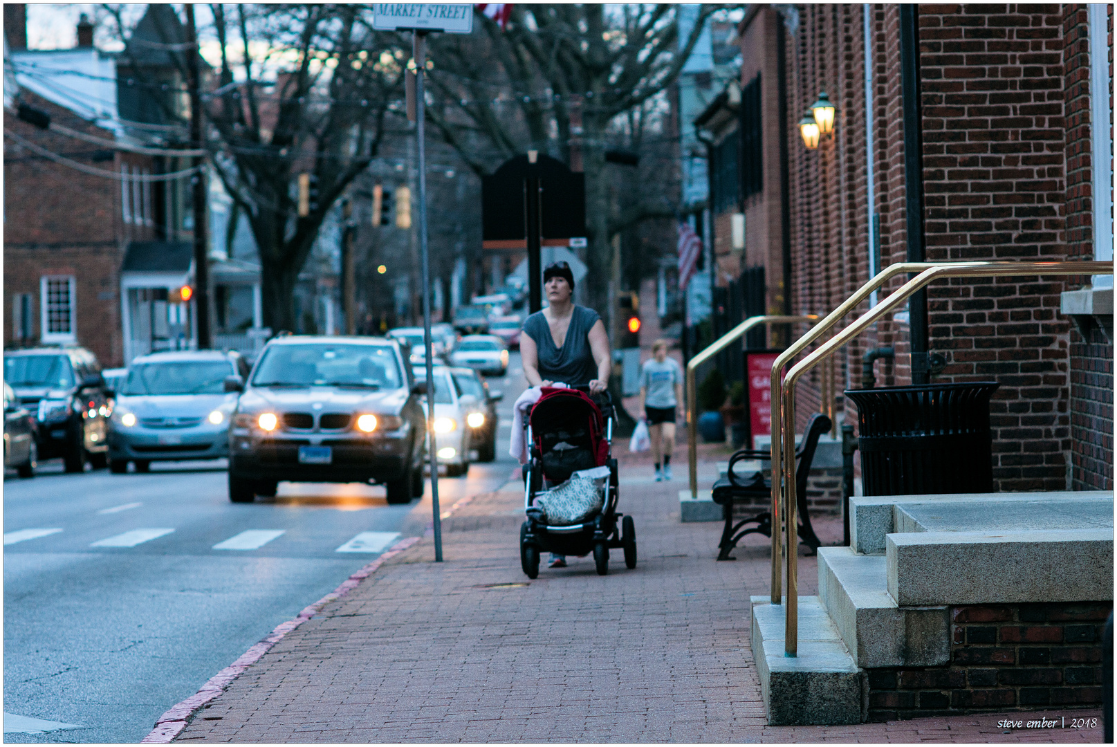Late Winter Rush Hour - an Annapolis Moment