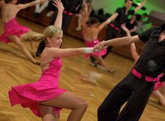 Latein A Formation der Tanzschule Streng in Fürth 1/2