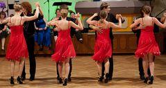 Latein C Formation der Tanzschule Streng in Fürth 1/3