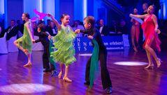 Latein-Kinderformation der Tanzschule Gutmann