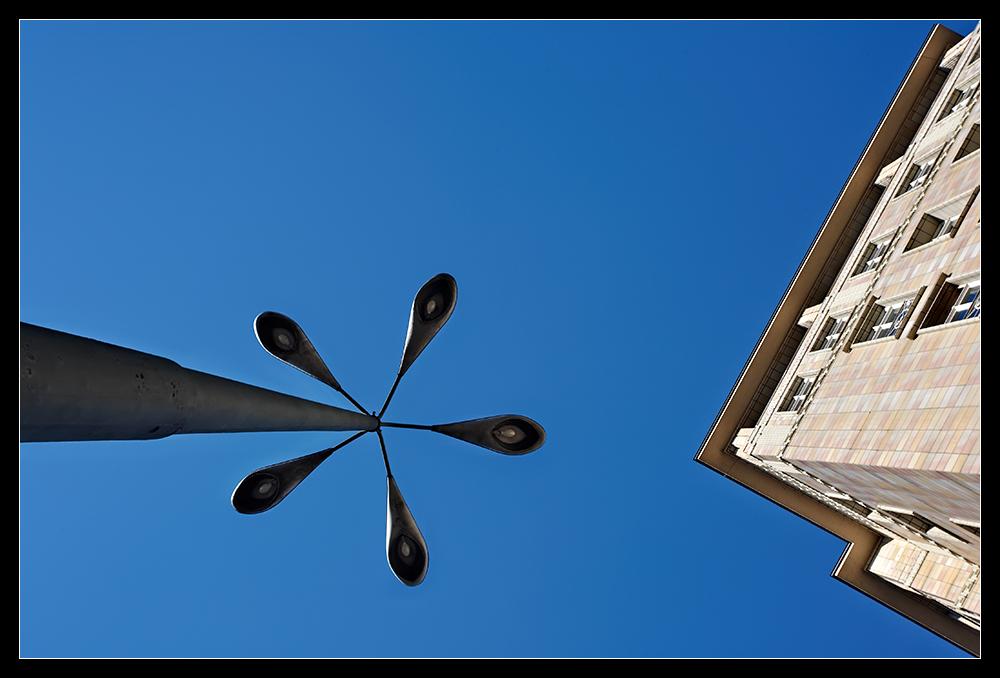 Laterne am Strausberger Platz