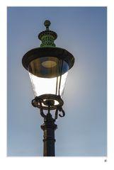 Laterne vor Amalienborg