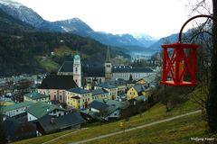 Laternenweg in Berchtesgaden
