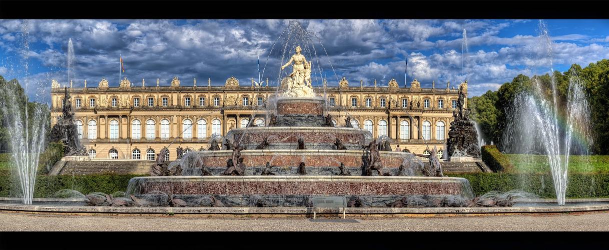 Latonabrunnen vor dem