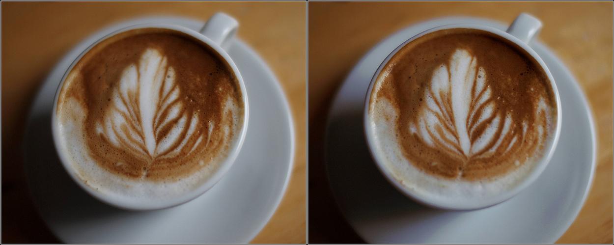 Latte-art in Eigenproduktion