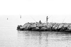 L'attente du poisson.