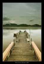 L'attracco sul lago