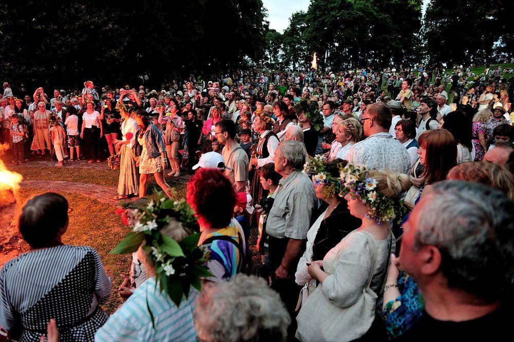Latvian Mystery (at Summer sun solstice)