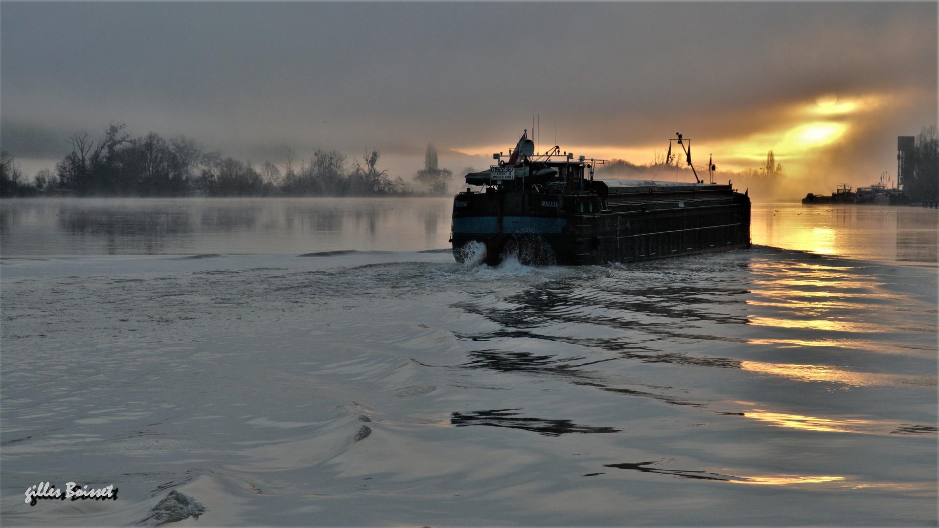 l'aube des mariniers